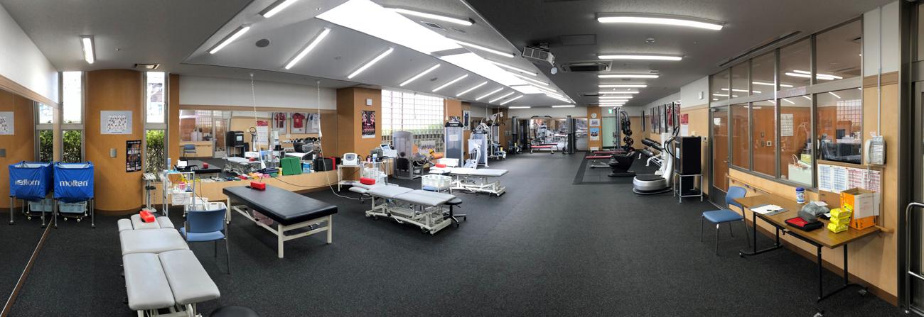 スポーツリハビリテーション室